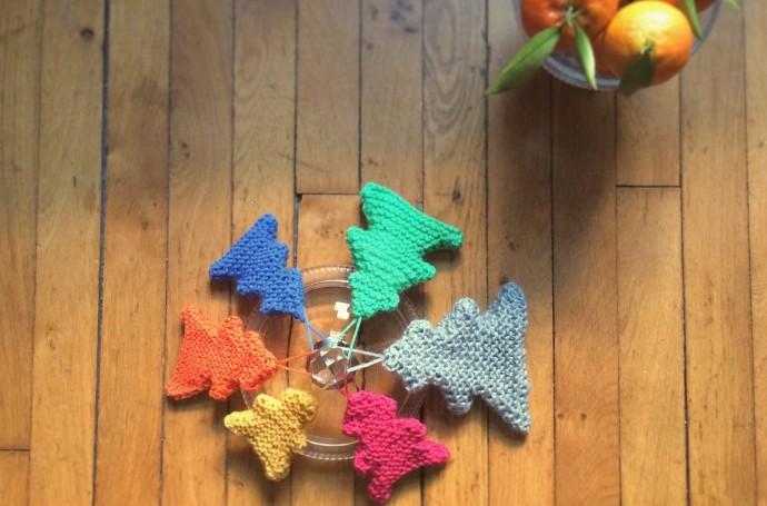 sapin en tricot