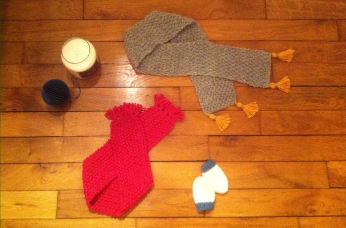 technique tricot points faciles