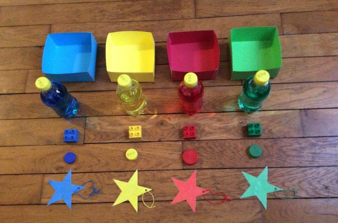 jeu de couleurs montessori à faire soi même