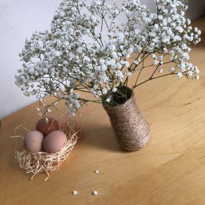 déco de Pâques et de printemps très rapide pour une jolie table