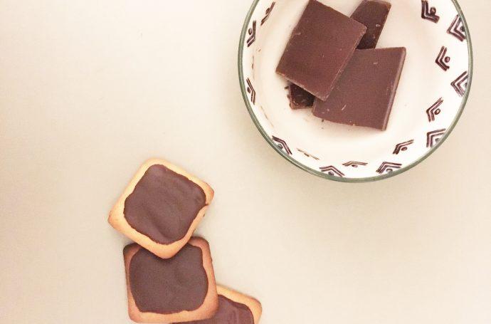 recette facile petit beurre chocolat maison