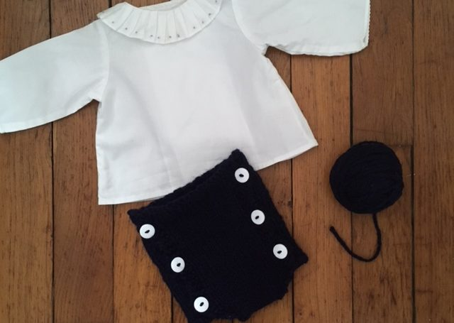 bloomer culotte courte tricot facile