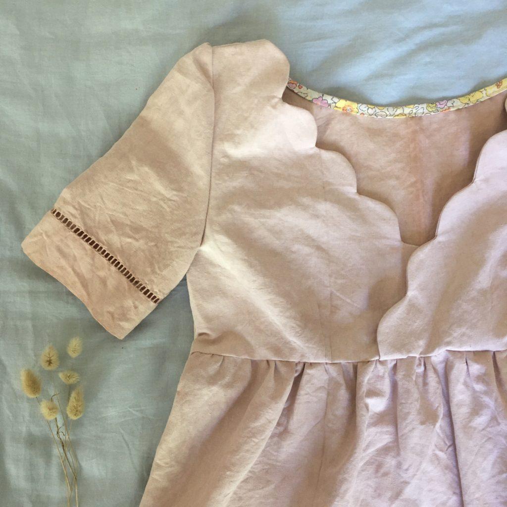 blouse eugenie feston teinture vegetale