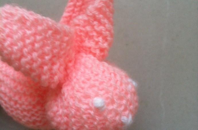 Tricoter un lapin : tuto facile