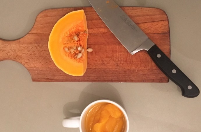 Recette d'automne le velouté gourmand de butternut
